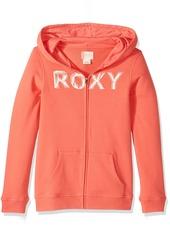 Roxy Little Girls' Luck Zip-up Hoodie Sweatshirt