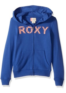 Roxy Little Girls' Luck Zip-up Hoodie Sweatshirt