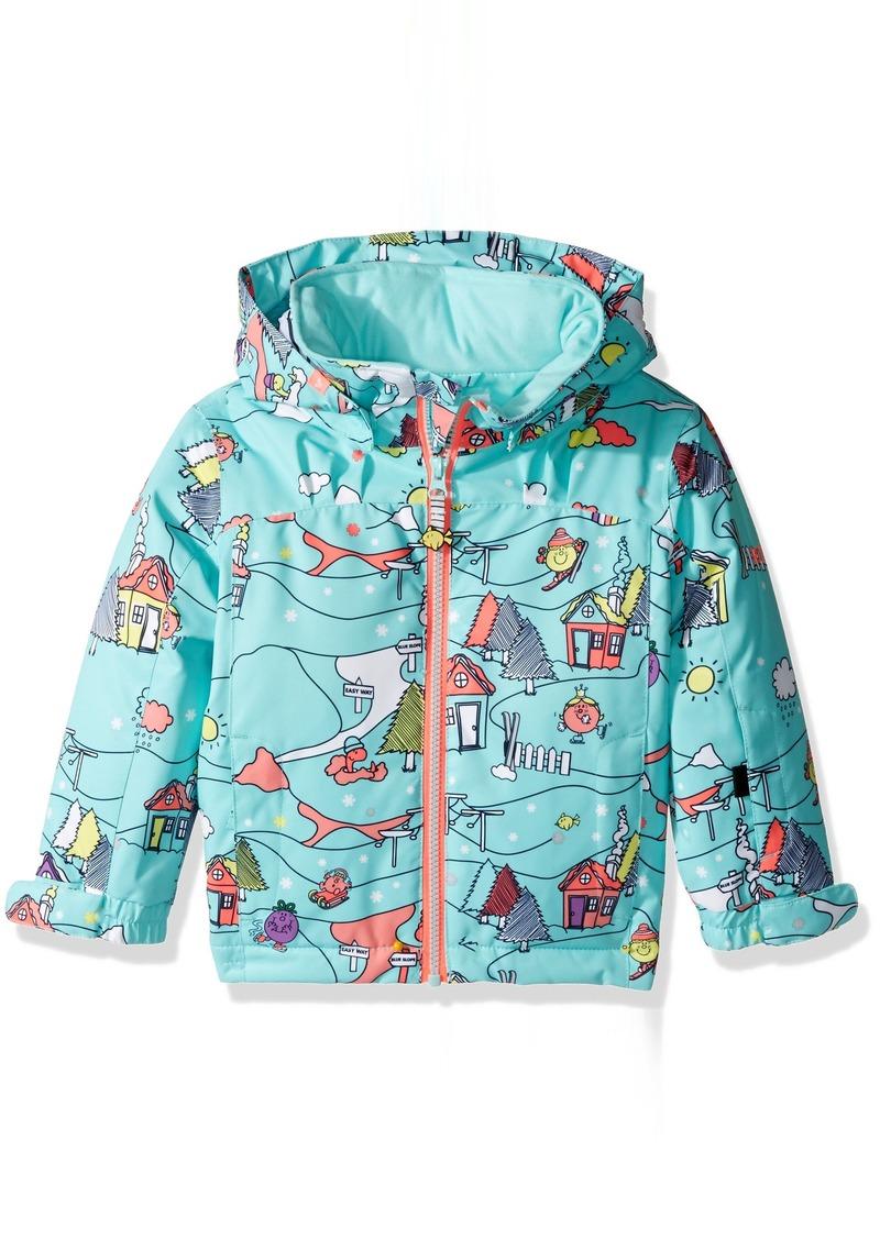 2eace8b87 SALE! Roxy Roxy Little Girls  Mini Jetty Miss Snow Jacket Aruba ...