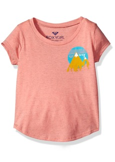Roxy Little Girls' Mountain Love Tw Fashion Crew Tee