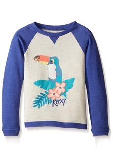 Roxy Girls' Little Arms Around U Long Sleeve Fleece