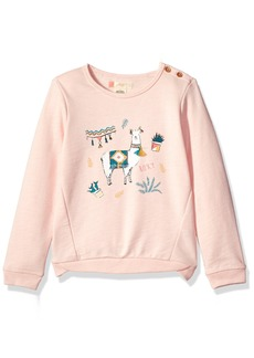 Roxy Little Girls' Palm's Valley Lami Lama Sweater