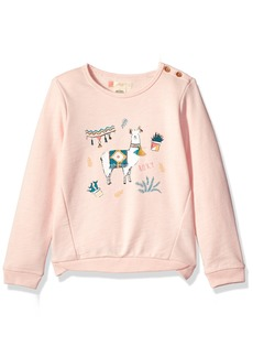 Roxy Little Girls' Palm's Valley Lami Lama Sweater  6X