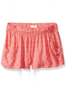Roxy Little Girls' something I Will Believe Knit Shorts Dubarry RG Cayo Coco