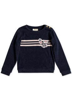 Roxy Little Girls Striped Sweatshirt
