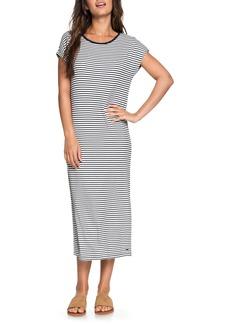 Roxy Make It New Stripe Midi Dress