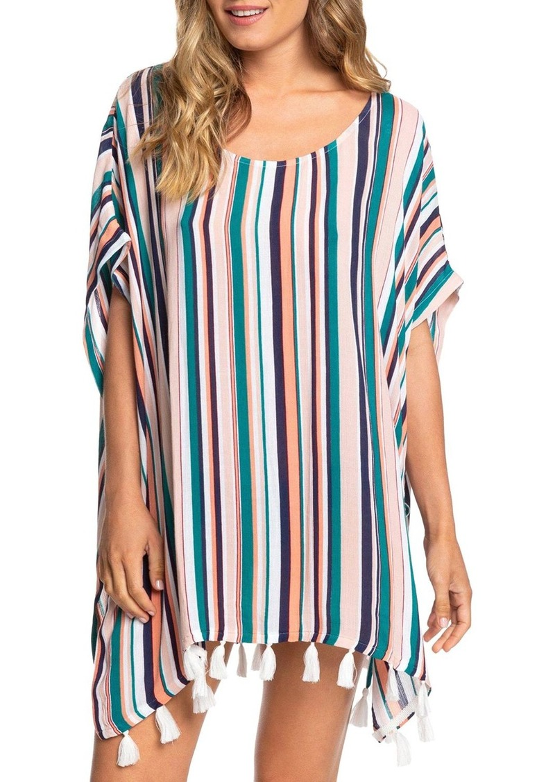 Roxy Make Your Soul Poncho Swim Cover-Up