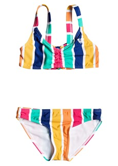 Roxy Maui Shade Two-Piece Bralette Swimsuit (Toddler & Little Girl)