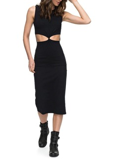 Roxy May Blossom Cutout Midi Dress
