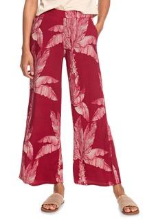 Roxy Midnight Avenue Floral Print Pants