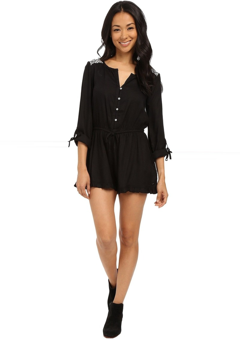 Roxy Midnight Edge Solid Romper