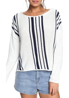 Roxy Monument Border Stripe Sweater