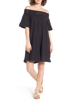 Roxy Moonlight Shadows Off the Shoulder Dress