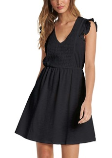 Roxy Morning Breeze Flutter Sleeve Dress