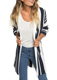 Roxy Morning to Palu Bay Stripe Cardigan