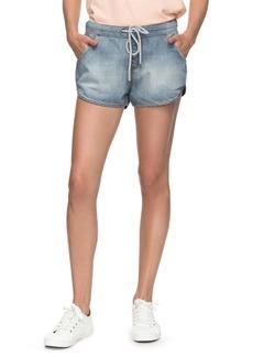 Roxy Music Never Stop Denim Shorts