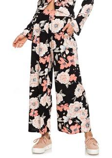 Roxy New Midnight Avenue Floral Print Pants