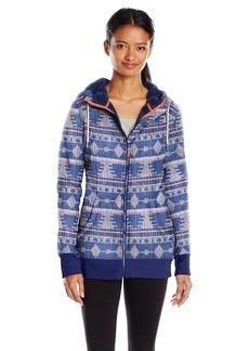 Roxy SNOW Junior's Frost Printed Fleece Jacket  S