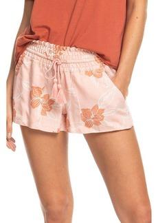 Roxy Oceanside Floral Print Shorts