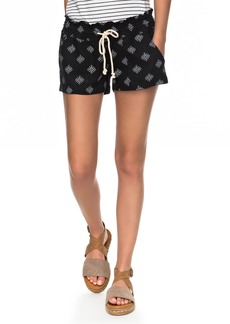 Roxy Oceanside Printed Drawstring Shorts
