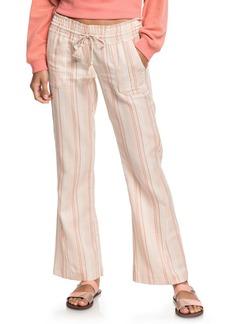 Roxy Oceanside Stripe Flare Pants