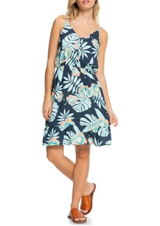 Roxy Only Song Print Sundress