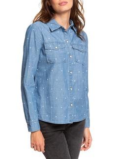 Roxy Paradisiac Cascade Chambray Shirt