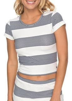 Roxy Parker Stripe Crop Top