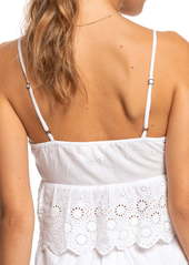 Roxy Play the Part Broderie Anglaise Crop Top