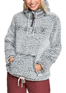 Roxy Pluma Fleece Quarter Zip Hoodie