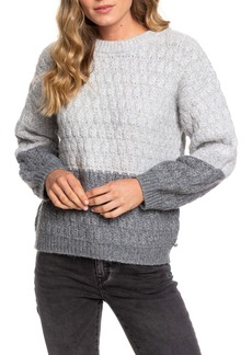 Roxy Polaroid Girl Colorblock Sweater