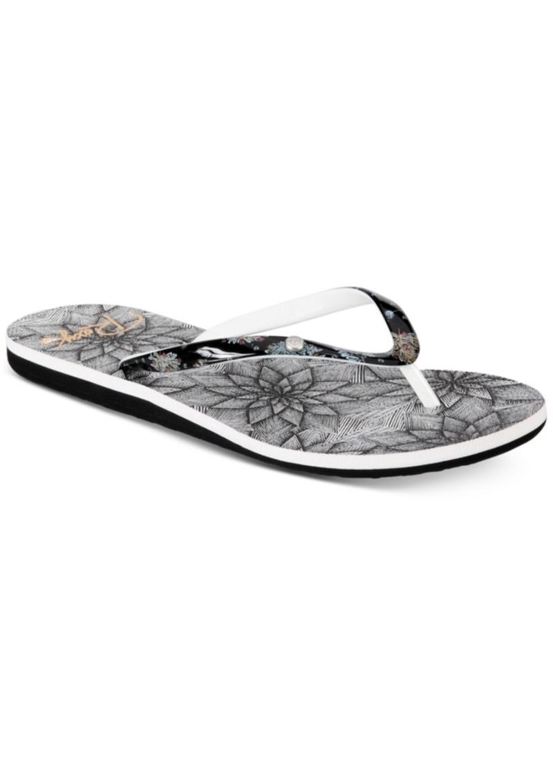 22b75a3204 Roxy Roxy Portofino Ii Flip-flop Sandals Women's Shoes | Shoes