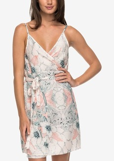 Roxy Printed Wrap Dress