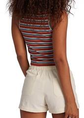 Roxy Retro Paradise Stripe Ribbed Tank Top