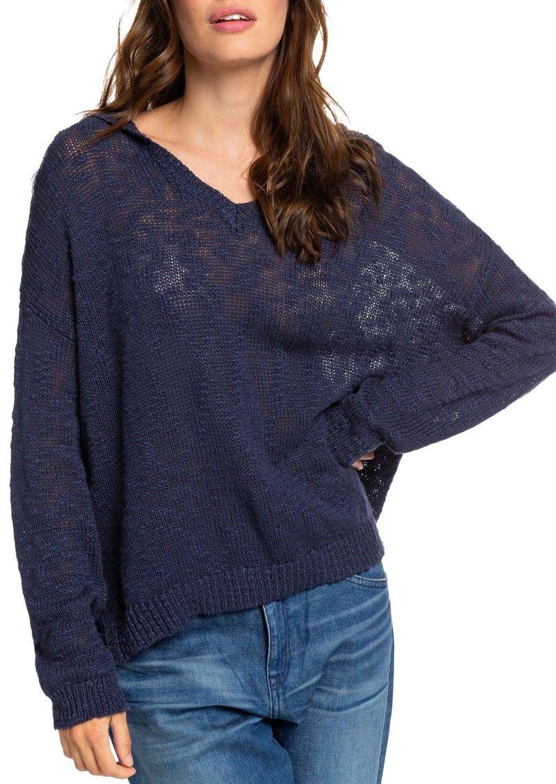 Roxy Sandy Bay Beach Hooded Sweater