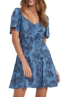 Roxy Shoulder Shimmy Minidress