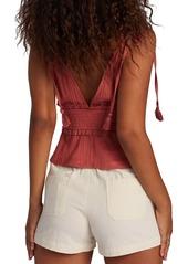 Roxy Simple Blossom Tie Shoulder Camisole