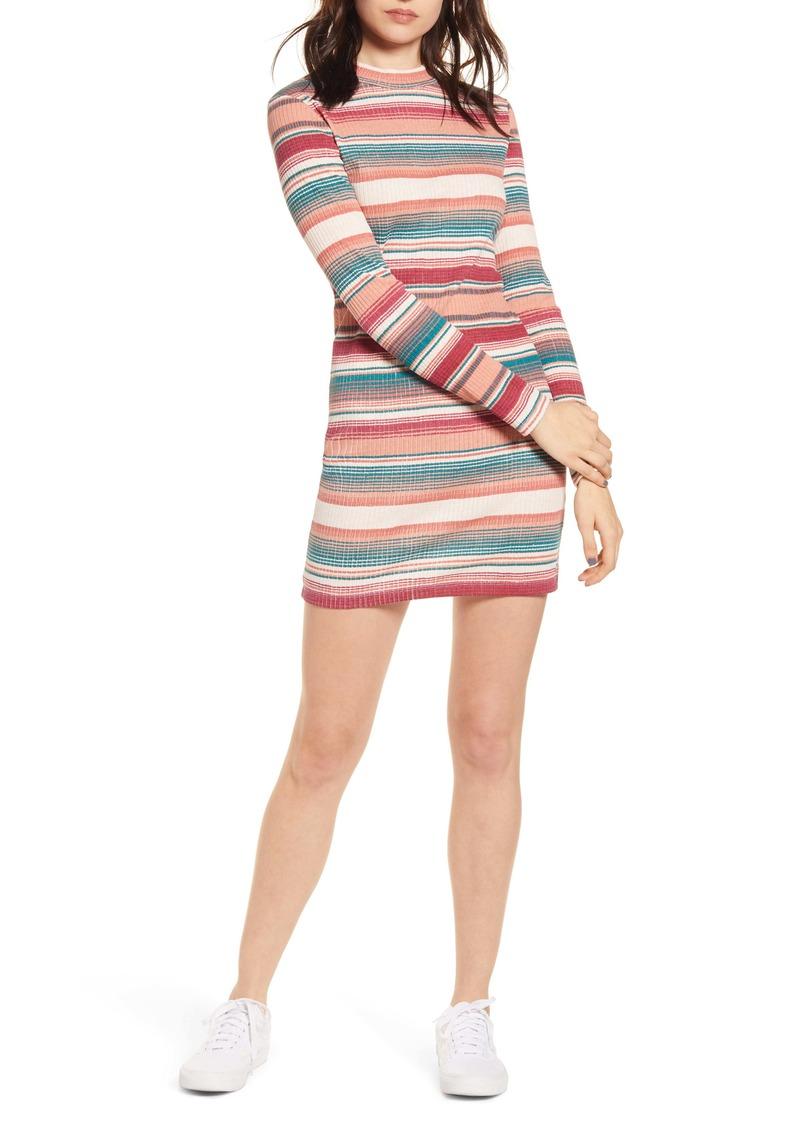 Roxy Smooth Dreamer Long Sleeve Stripe Dress