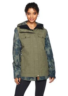 Roxy Snow Junior's Ceder Snow Jacket Dust IVY L