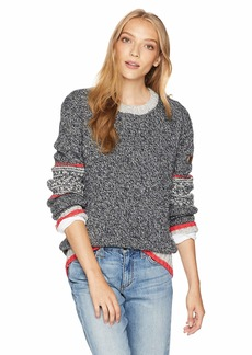 Roxy Snow Junior's Cozy Sound Pullover Crew Sweatshirt  L