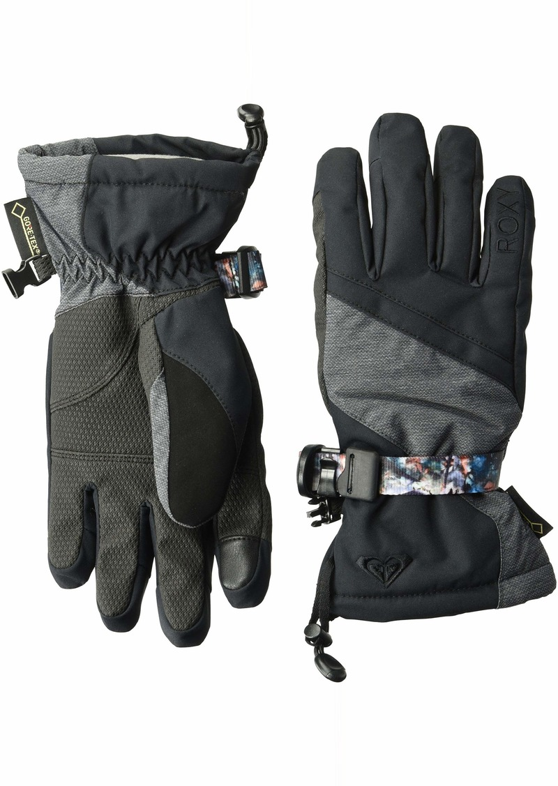 Roxy SNOW Junior's Crystal Snow Gloves true black M