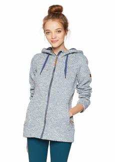 Roxy Snow Junior's Doe Zip-Up Hooded Sweatshirt  M