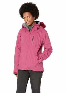 Roxy Snow Junior's Down The Line Jacket Beet red XL
