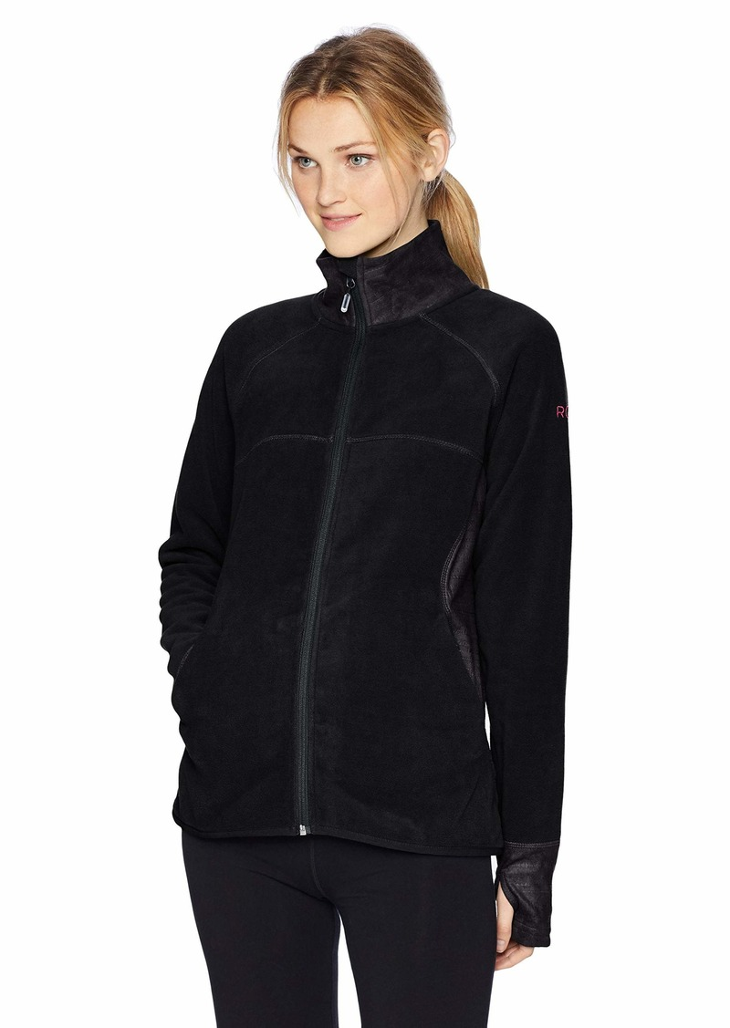 Roxy Snow Junior's Harmony Zip-Up Fleece Jacket  S