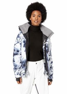 Roxy Snow Junior's Jet Ski Premium Snow Jacket Bright White_Pine Sky S