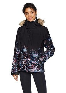 Roxy Snow Junior's Jet Ski SE Snow Jacket True Black_Garden Party M