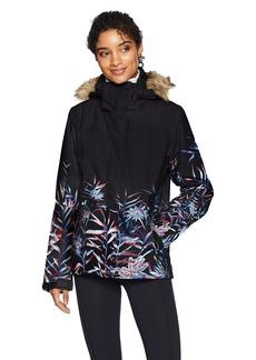 Roxy SNOW Junior's Jet Ski SE Snow Jacket True Black_Garden Party S