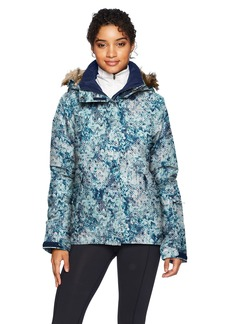 Roxy SNOW Junior's Jet Ski Snow Jacket Aruba BLUE_KALEIDOS Flowers L