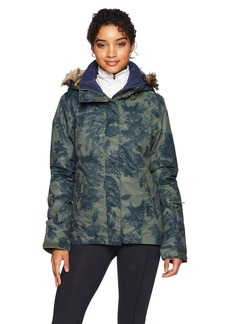 Roxy Snow Junior's Jet Ski Snow Jacket Dusty Ivy_Sylvan Forest L