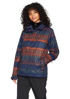 Roxy Snow Junior's Jetty 3 in 1 Snow Jacket Peacoat_PALEAO M